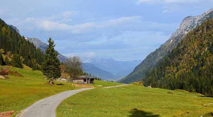 Het prachtige Gschnitztal.